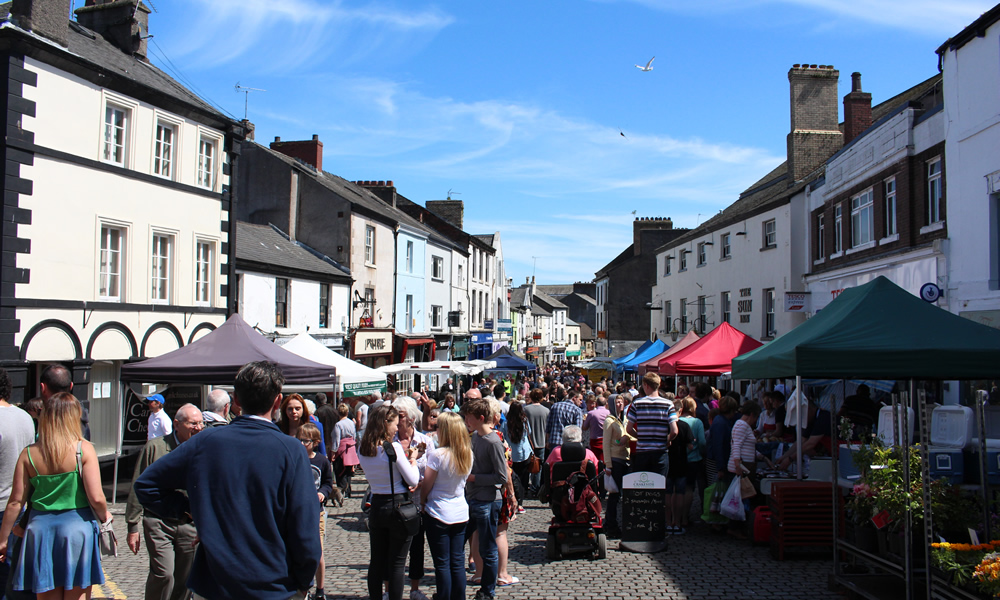 Ulverston Food Festival 2015