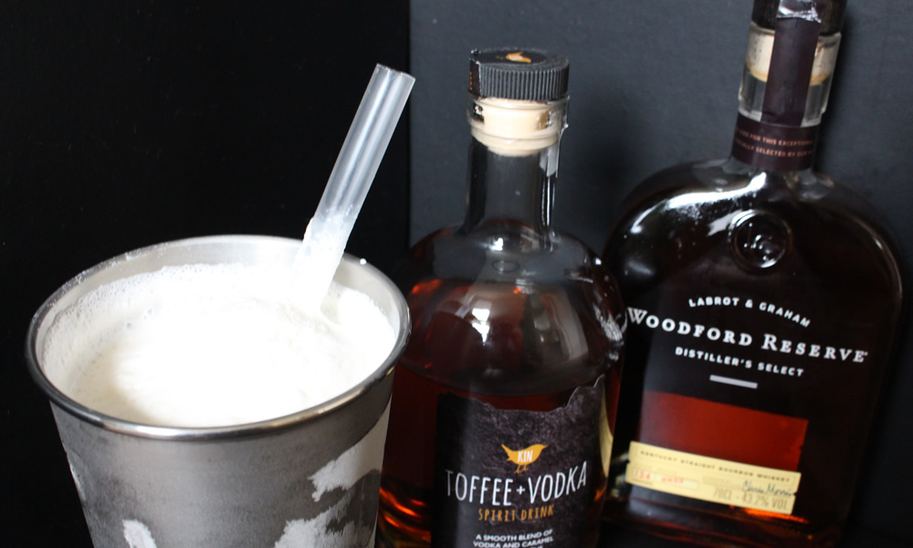 "Bourbon and Toffee Vodka ""Hardshake"""