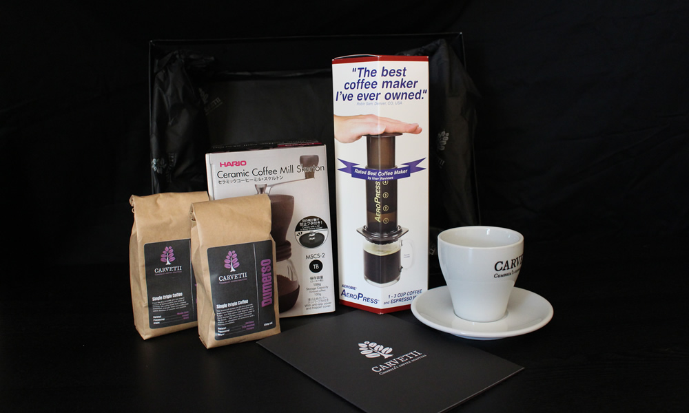Carvetii Coffee Gift Set