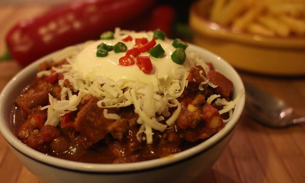 3 Meat Chilli