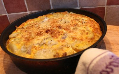 Leek and Stilton Frittata