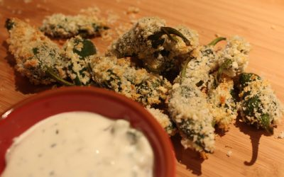 Stuffed Jalapeños with Spicy Cream Cheese
