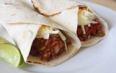Meat and Veg Burrito