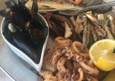 Kanali fish platter